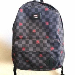 Vans/Spider-man backpack
